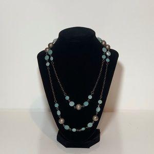 Blue Opera Necklace!